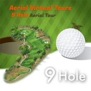 drone golf course virtual tour 9 hole