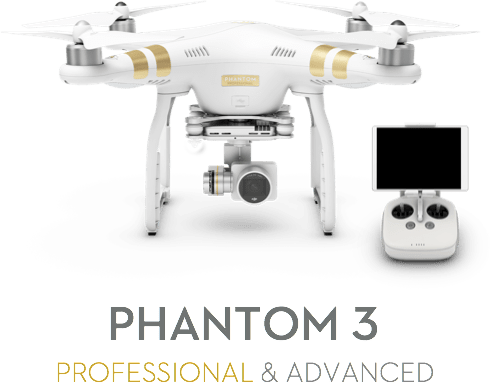 phantom 3 for drone golf course virtual tour