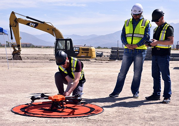how to use drones to save cost in construction