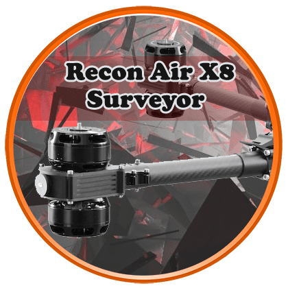 recon ppk surveying drone