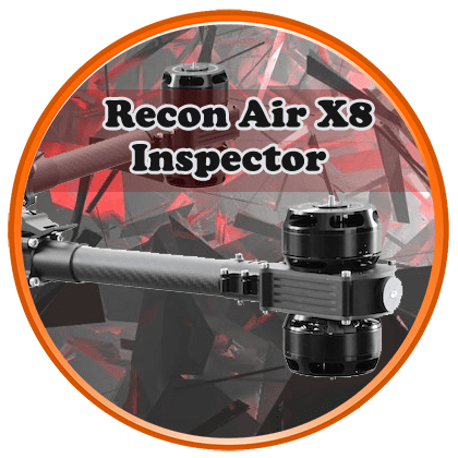 recon x8 pro inpsector drone2