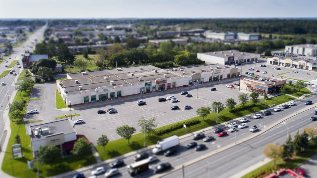 Commercial drone real estate images