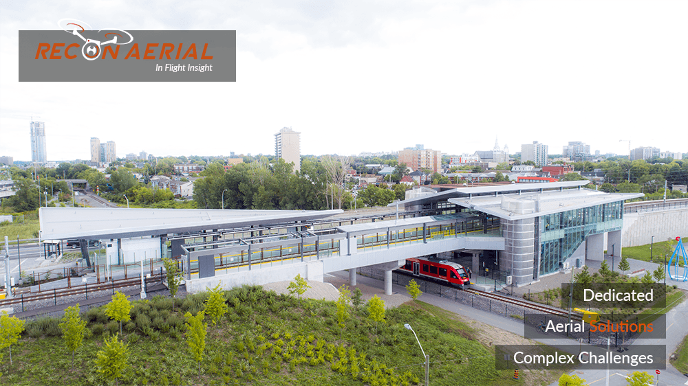 drones for inspection of rail infrastructure