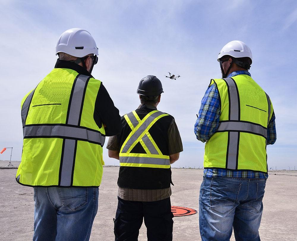 drone pilot supervision services