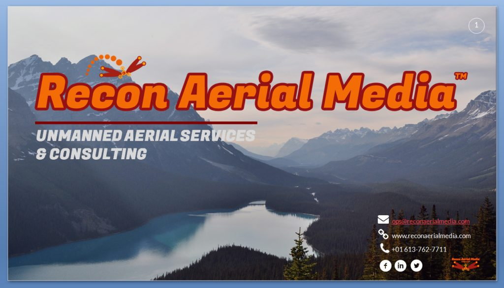 drone services by recon aerial media download