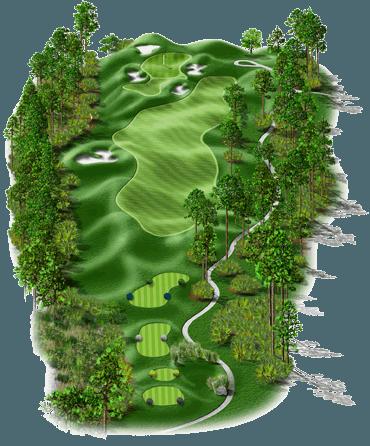 signature hole drone golf course virtual tour