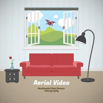UAV video for real estate