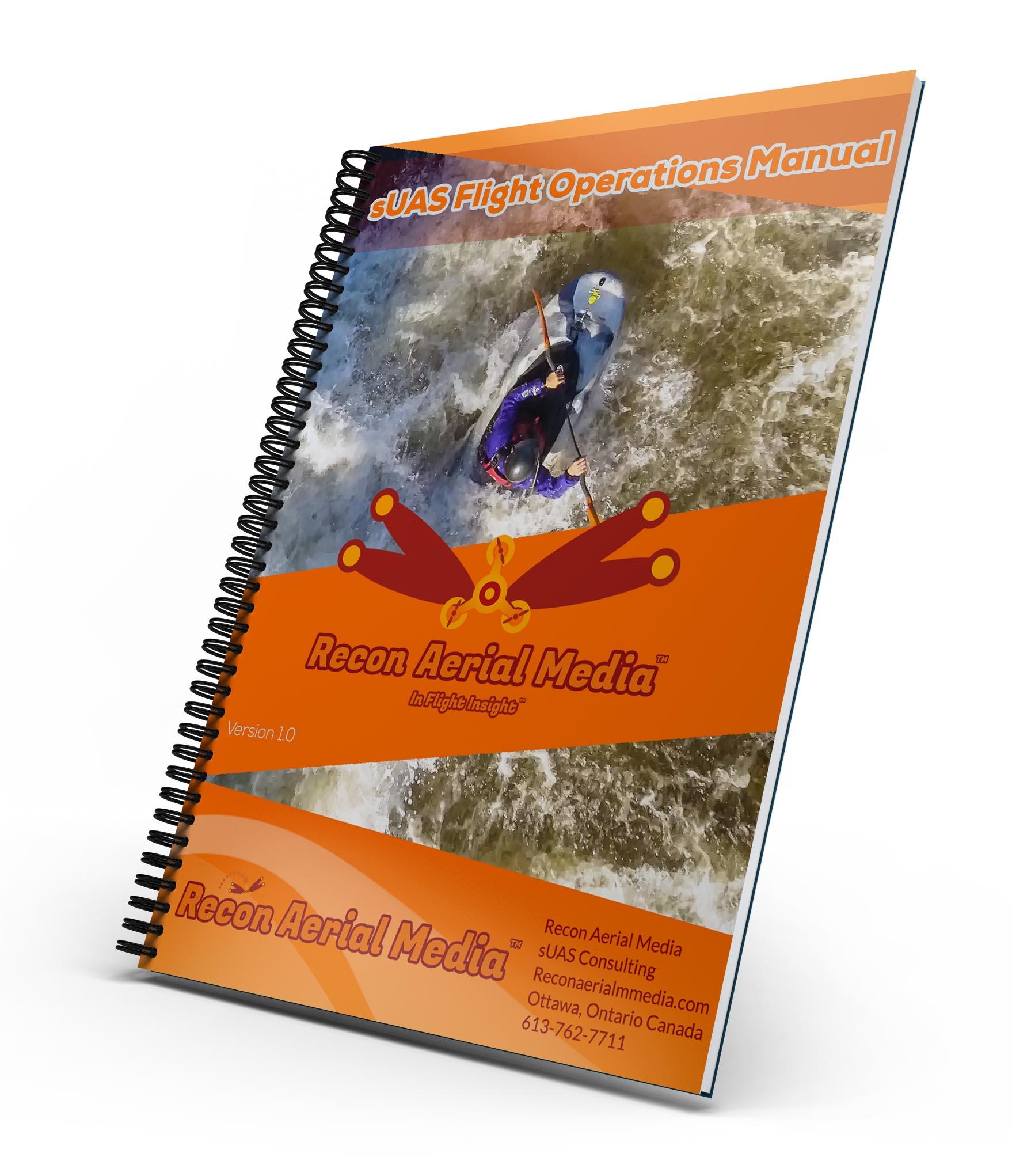 recon aerial media sUAS flight operations manual